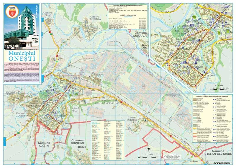 Primaria Onesti Harta Pliabila Fata Business Map