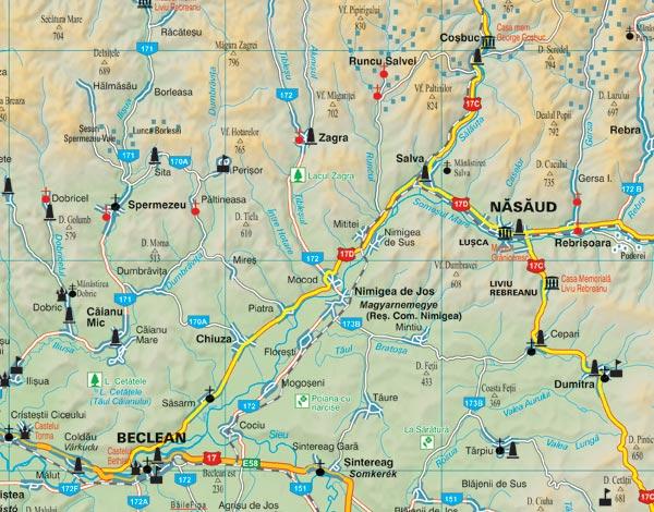 Harta Bistrita Nasaud Harta Personalizata