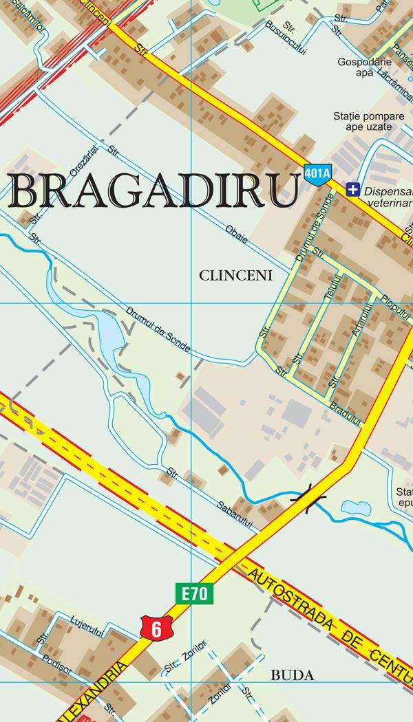 Harta Bragadiru Harta Personalizata