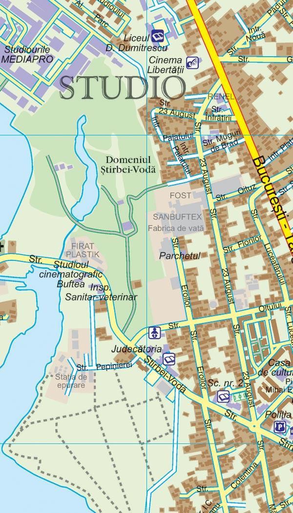 Harta Buftea Harta Personalizata