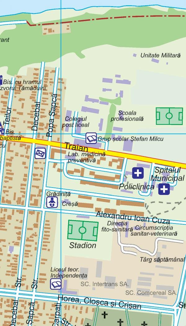 Harta Calafat Harta Personalizata