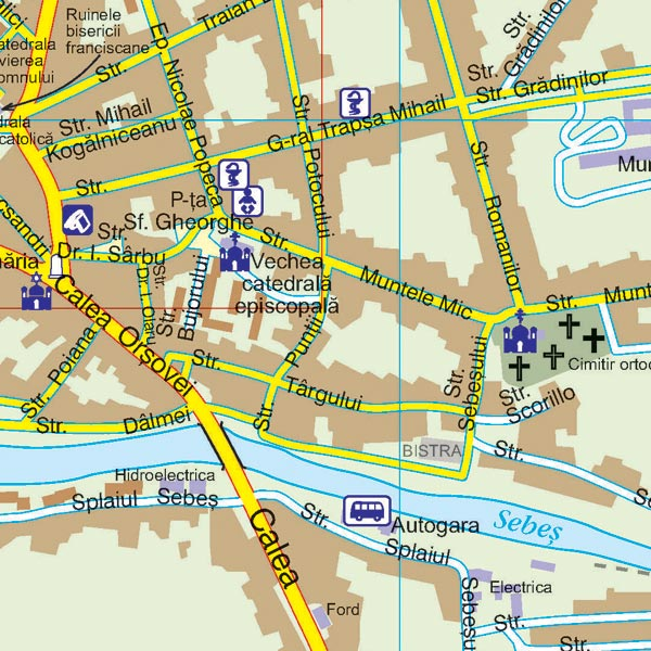 Harta Caransebes Harta Personalizata