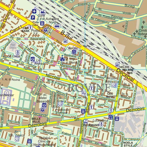 Harta Craiova Harta personalizata