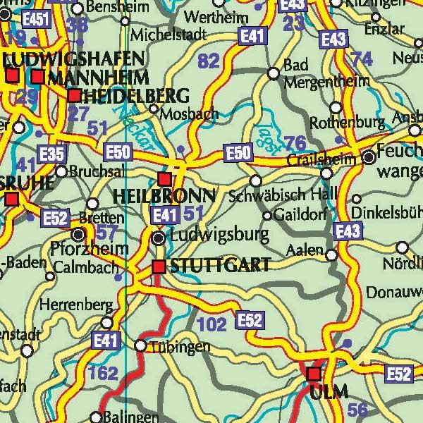 Harta Rutiera A Europei Distante Rutiere Harta