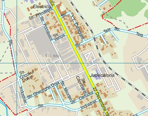 Harta Moreni Harta Personalizata