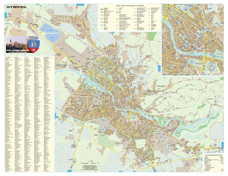 Harta Oradea Harta Personalizata - Oradea map