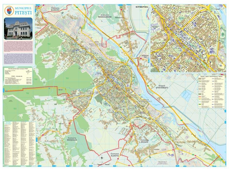 Harta Pitesti Harta Personalizata