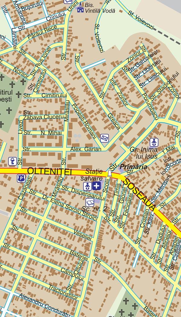 Harta Popesti Leordeni Harta Personalizata