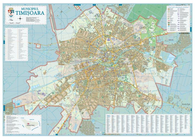 Harta Timisoara Harta Personalizata