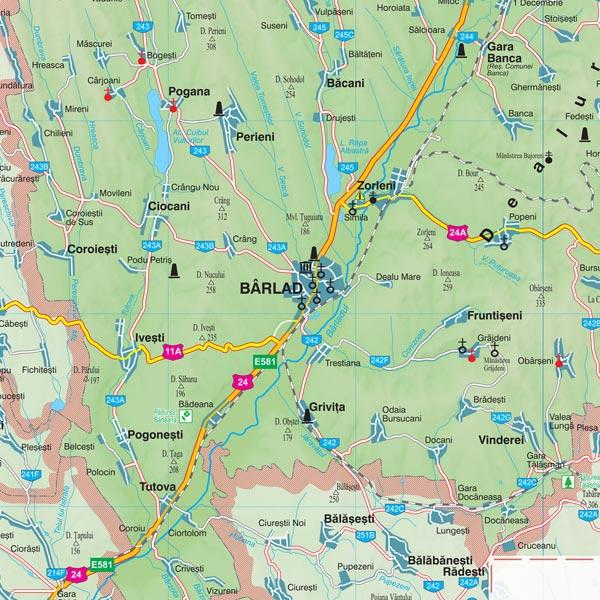 Harta Vaslui Harta Personalizata