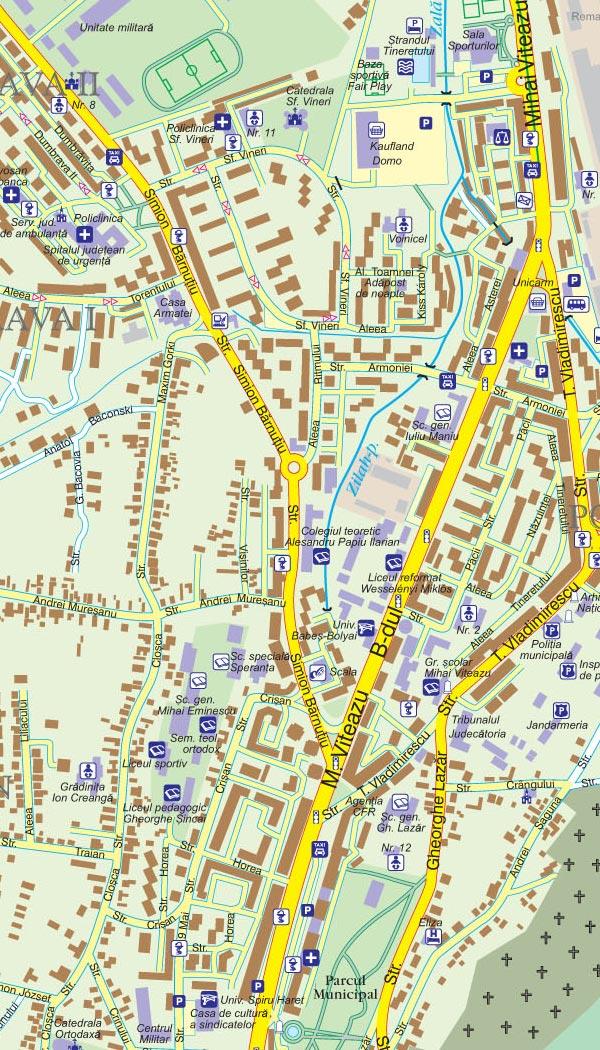 Harta Zalau Harta Personalizata