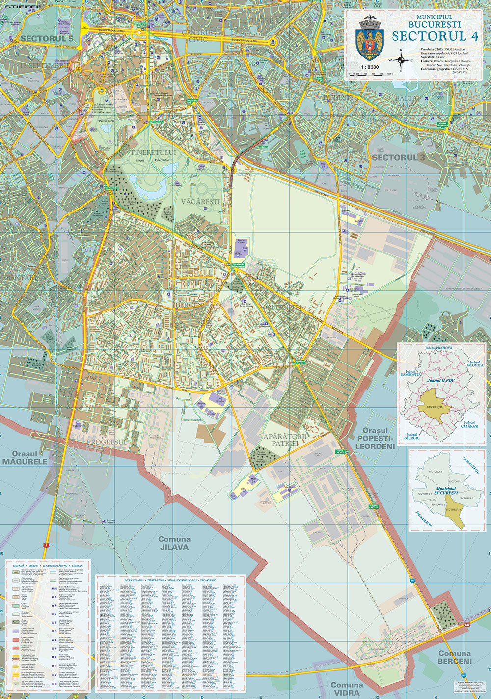 harta-bucuresti-sector-4-business-map